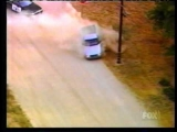 Police chase blue pick-up in Lancaster, CA