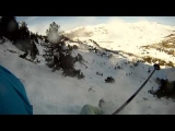 FAIL Accident Skiing in Spain (GoPro HD)
