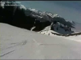 (Club Mix)2009-Onboard Camera Run skiing down the slopes of Samoens Les Carroz