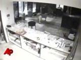 Raw Video: Goat Smashes Into Strip Club