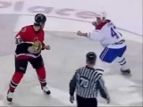 The most intense and craziest hockey fight ever