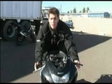 How To Do a Stoppie Motorcycle Stunt : Braking for Motorcycle Stoppie
