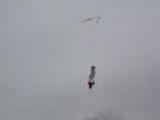 Aerial Ski Accident
