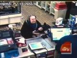 Tough Granny Attacks Robber
