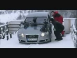 Carjam: Making Audi Quattro Ski jump TV Ad Commercial