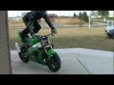 Motorcycle stunts – Andrew Hoffman – HoffmanXtreme