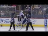 John Scott vs Derek Dorsett Feb 18, 2012