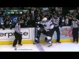 Joe Thornton vs Drew Doughty Apr 5, 2012