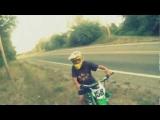Road Wheelie CRASH – Dirt Bike Go Pro Accident