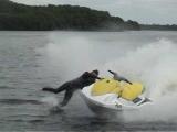 Jet Ski Wipeout crash jetski Lough Erne Accident funny