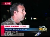 Plane crashes in Mobile County