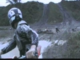 Dirtbike wipeout