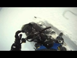 MASSIVE Snowmobile CRASH – 2 Snowmobiles Smash Into Each Other!