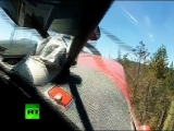 Cockpit cam: Miracle escape as small plane crashes in Idaho forest