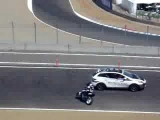 MOTO GP 2008 MOTORCYCLE STUNT GONE WRONG