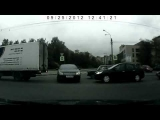 NEW scary fast car accident in Russia!Citroen C5 crash!