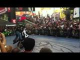 Stunting at the 2012 Kawasaki Ninja Times Square Takeover