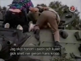 Police Chase Rampaging Army Tank & Shoot Driver