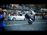 Red Bull: Chris Pfeiffer [Motor Stunt Riding Show in Tbilisi]