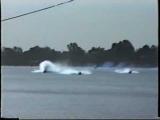 God's Gift & Mr Walker Mildura Water Ski Race 1995 & Wade Bennett's fall in the Ski Drags