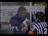 Hockey Fight: Ruutu vs Tucker