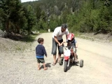 Funny Dirt Bike Wipeout