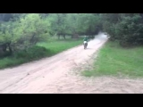 Dirtbike crash wipe out whiskey throttle
