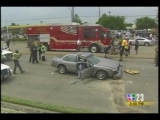 Dallas Police Chase June 29 Univision 5PM coverage