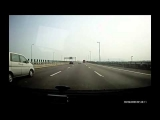 Severe Accidents – Two Car Crash On Highway And Flip Over
