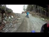 Backcountry motorbiking – GoPro
