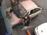 Stupid Car Accident – Dumb Woman Drives Into Man While Parking Crash Funny Epic Fail