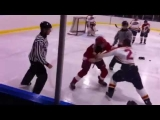 "Best Hockey Fight ""junior C"" Kingsville Comets"
