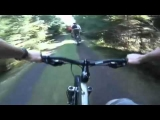 Mountain Bike Crash! 2 Riders Get Wiped Out!
