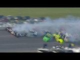 NASCAR Pileup: Lesson for Surviving Car Crashes?