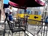 Drunk Crazy Lady Walking & Cussing in Long Beach