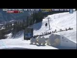 Winter X Games 2012: Bad Crash Phil Casabon Skiing Slopestyle