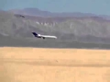 Jet Plane Crashes into Mexican Desert Caught on Video Boeing 727