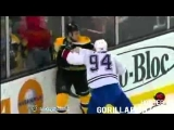 Unbelievable Hockey Fight: FULL TEAM FIGHT
