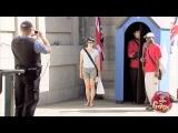 British Underwear Guard Prank