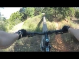 Painful Mountain Bike Accident – Wheel Gets Broke