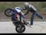 BMW S1000RR Stunt Motorcycle
