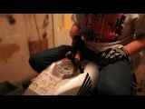 How To Dent a Stunt Motorcycle Gas Tank