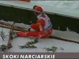 ski jump crash