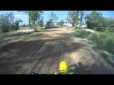 Awesome Motorcross Racing + CRASH RM125 VS KTM 250F