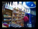 Fight: Drunks Chased Out Of Liquor Store!