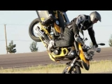 "Chris ""Teach"" Mcneil aboard the Twisted Throttle equipped BMW F800GS"