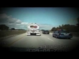Police Chase With Baby Thrown On Highway