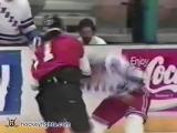 Craig Berube vs Tie Domi Mar 4, 1991