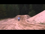 Motocross KTM SX 85 Riding & Crashes