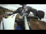Big Motorcross Crash! Rider Flys Off His Bike!